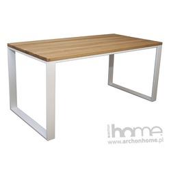 Stół Orlando 140 olejowany biały