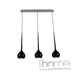 Lampa LIBRA 2 czarna wisząca