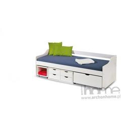 Łóżko FLORO białe