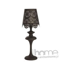 Lampa IBIZA T czarna stołowa