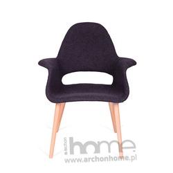 Krzesło A-SHAPE ciemny grafit