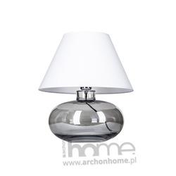 LAMPA BERGEN BLACK biała