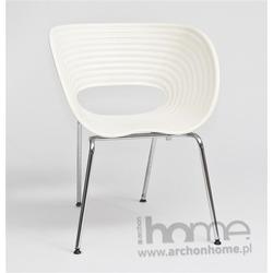 Krzesło VTV białe - inspirowane Tom Vac