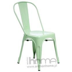 Krzesło Paris zielone - inspirowany Tolix