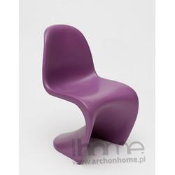 Krzesło dziecięce Balance Junior fioletowe - inspirowane Panton Jr