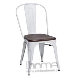 Krzesło Paris Wood biały jesion