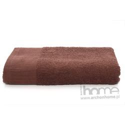 Ręcznik AQUA brązowy 70x140