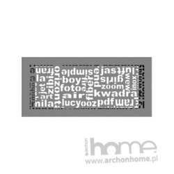 Kratka ABC granito 17x37
