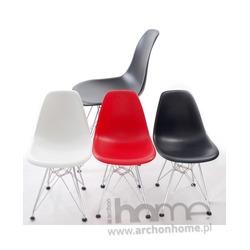Krzesło dziecięce Socrates czerwone chrom