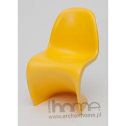 Krzesło dziecięce Balance Junior żółte - inspirowane Panton Jr