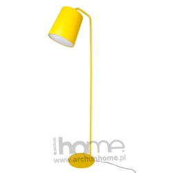 Lampa FLAMING żółta podłogowa