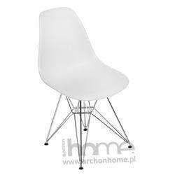 Krzesło Socrates light grey chrom