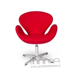Fotel SWAN czerwony