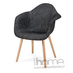Krzesło PLUSH ZEBRA czarna