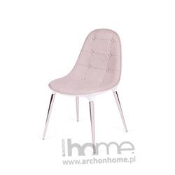 Krzesło PHILIPPE PASSION beż tkanina