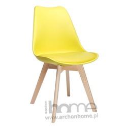 MODESTO Krzesło NORDIC żółte