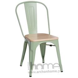 Krzesło Paris Wood pomarańczowy jesion