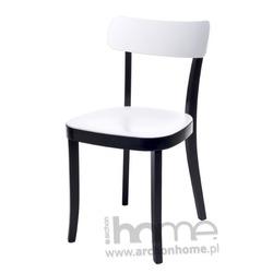 Krzesło Classic biało-czarne - inspirowane Basel