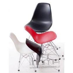 Krzesło dziecięce Socrates czarne chrom