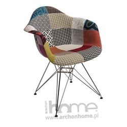 Krzesło EMAUS patchwork kolorowy