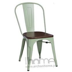Krzesło Paris Wood zielony sosna