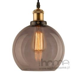 Lampa New York Loft 2 smoky wisząca
