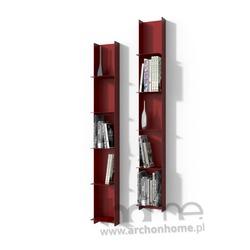 Biblioteczka Libra 1 czerwona