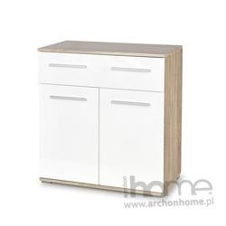 Komoda LIMA KM 1 biały/dąb sonoma