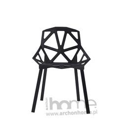 MODESTO Krzesło SPLIT MAT czarne