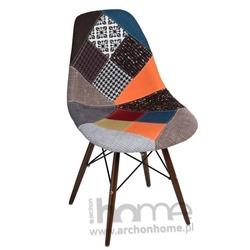 Krzesło Socrates Patchwork dark