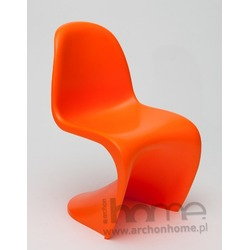 Krzesło dziecięce Balance Junior pomarańczowe - inspirowane Panton Jr