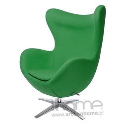 Fotel EGG szeroki zielony