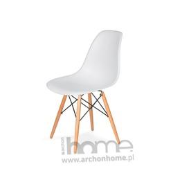 MODESTO krzesło SOCRATI DSW białe