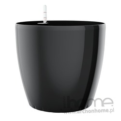 Donica 35 cm Casa Brilliant czarna (system nawadniania)