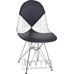 Krzesło Net double czarne - inspirowane Wire Chair
