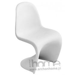 Krzesło dziecięce Balance Junior białe - inspirowane Panton Jr