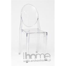 Krzesło Viki transparentne - inspirowane Victoria Ghost
