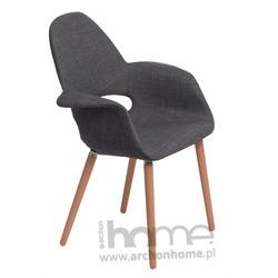 Krzesło A-SHAPE ciemno szare