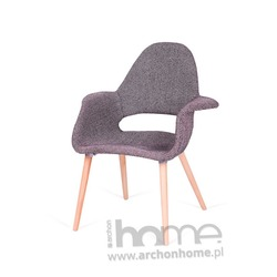 Krzesło A-SHAPE zebra czarna