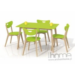 Stół Lorrita limonkowy 120