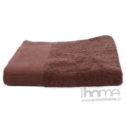 Ręcznik AQUA brązowy 50x100