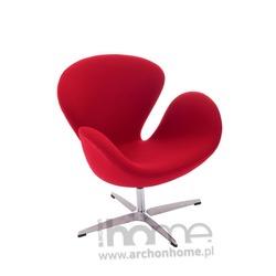 Fotel Cup czerwony - inspirowany Swan