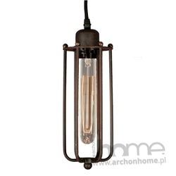 Lampa Amsterdam Loft 4 rusty wisząca