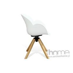 Fotel obrotowy FLOWER biały