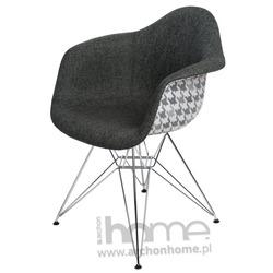 Krzesło EMAUS DUO szare pepitka