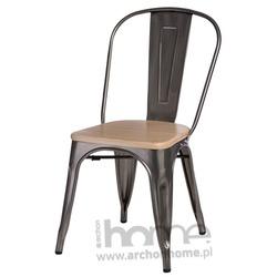 Krzesło Paris Wood jasny zielony jesion