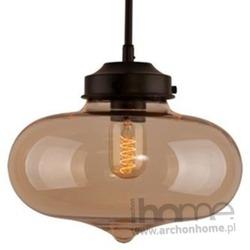 Lampa London Loft 1 bursztyn wisząca