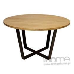 Stół Okrągły czarny