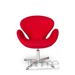 MODESTO Fotel SWAN UP czerwony