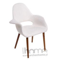 Krzesło A-Shape białe - inspirowane Organic chair